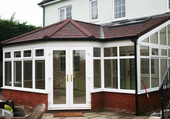 P-Shape Conservatory Roof